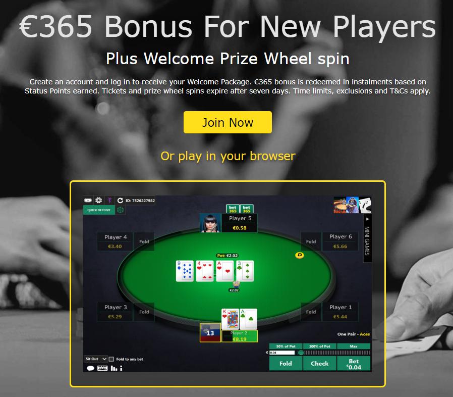 бет365 бонус рулет нов играч